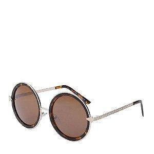 Óculos de Sol Prorider Tartaruga com Dourado - H01421C1