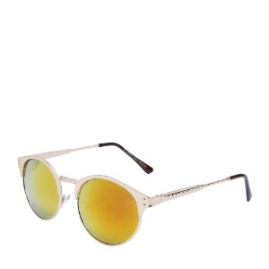 Óculos de Sol Prorider Dourado com lente gradiente laranja e preto H01450C1