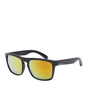 Óculos Solar Prorider Preto&Prata com lente espelhada LL3015