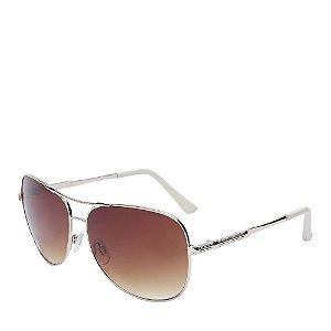 Óculos de Sol Prorider Dourado e Bege - RM6207