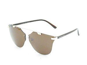 Óculos de Sol Prorider Dourado e Marrom - 3879