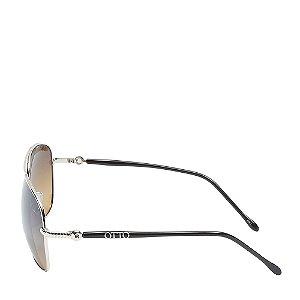 Óculos Solar Otto Preto&dourado 8043