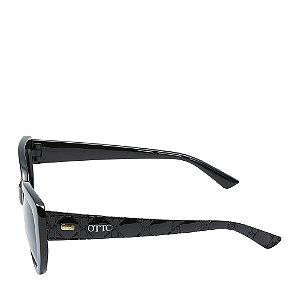 Óculos Solar Otto Preto com detalhe dourado 19755