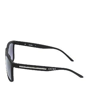 Óculos Solar Otto Preto Fosco&dourado BIOSFERA