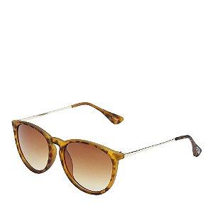Óculos de Sol Otto dourado tartaruga HALLO