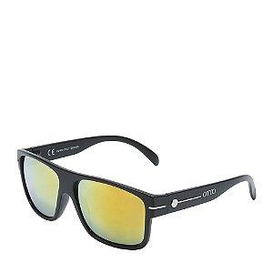 Óculos Solar Prorider Preto Fosco e dourado HYPHEN