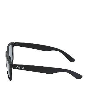 Óculos Solar Otto Preto Fosco wayfarer W1-Q