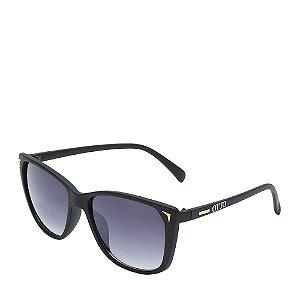 Óculos Solar Otto Preto Fosco e dourado Z086