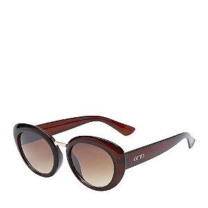 Óculos Solar Otto Marrom e dourado 950