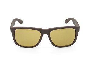 Óculos Solar Paul Ryan Marrom Fosco - 7390