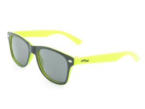 Óculos solar infantil Amy Loo preto e amarelo 7422