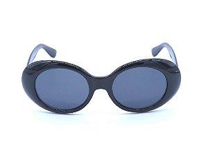 Óculos de Sol Prorider Preto Brilhante com Lente Fumê - YD17267C7