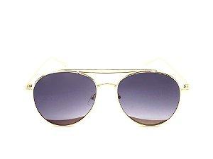 Óculos de Sol Paul Ryan Dourado com Lente Degrade - TUNI