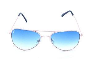 Óculos Prorider Aviador Dourado com Lente Degrade - 78