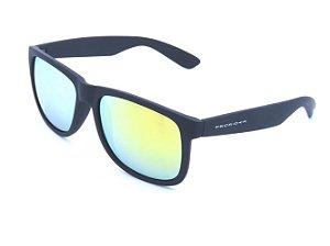 Óculos Prorider preto fosco com lente espelhada colors