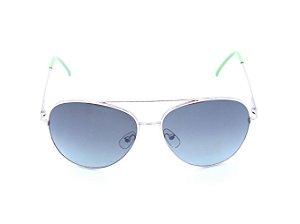 Óculos solar Prorider aviador dourado com lente degrade