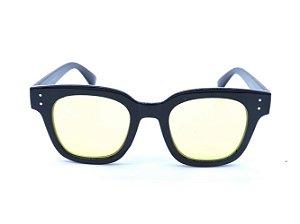 Óculos Solar Prorider Preto com Lente Amarela - CJH72027C4