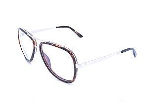 Óculos de grau Prorider Animal Print com dourado 13-229
