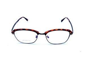 Óculos para Grau Prorider Animal Print com Dourado e Preto - 2740-C7