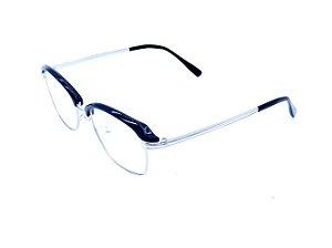 Óculos de grau Prorider preto com prata 2740-C8
