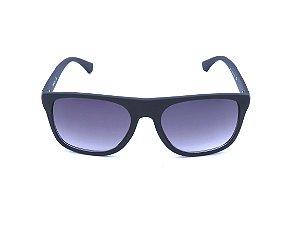 Óculos de Sol Prorider Preto Fosco com Detalhe em Prata na Haste - 8901