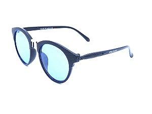 Óculos de Sol Bad Rose Preto com Lente Azul - CJ6103C5