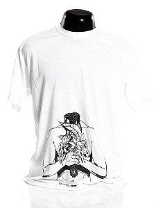 Camiseta branca Bad Rose Personagem Autoral Nanami Nem - BREAKHEAD