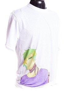 Camiseta branca Bad Rose Personagem Autoral Nanami Nem - RONA