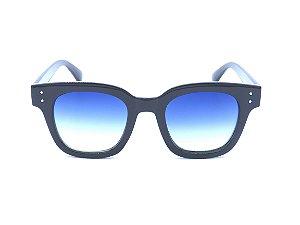 Óculos de Sol Bad Rose Preto com Lente Degradê - CJH72027C5