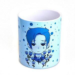 Caneca Bad Rose Personagem Autoral - BR1654 - Blue Tulip