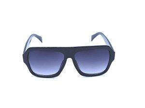 Óculos de Sol Preto com Lente Degradê - FY82005C5