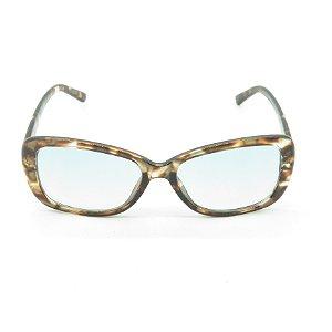 Óculos Solar Prorider em Animal Print com Lente degrade Azul - A0007-2