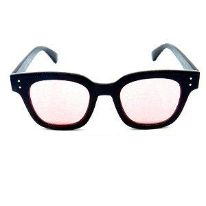 Óculos de Sol Prorider Preto com Lente Rosa - CJH72027C3