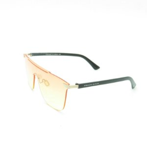Óculos Solar Prorider Preto e Dourado com Lente Degrade Rosa/Amarelo - CJH72042C3
