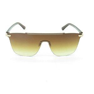 Óculos Solar Prorider Marrom e Dourado com Lente Degrade - CJH72042C2