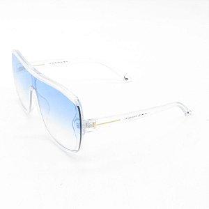 Óculos Solar Prorider Translúcido com Lente Degrade Azul - FY8117C3