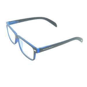 Óculos Receituário Prorider Preto e Azul Fosco - GP002