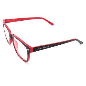 Óculos Receituário Prorider Preto e Vermelho - GP009-2