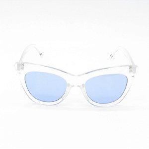 Óculos Solar Prorider Translúcido com Lente Azul - YD1829C5