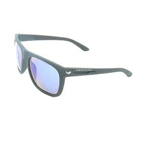 Óculos Solar Prorider Preto Fosco com Lente Espelhada Colors - XZ-57