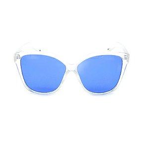 Óculos Solar Prorider Translúcido com Lente Azul - YD1792C4