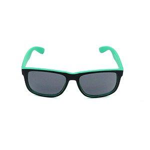 Óculos Solar Prorider Preto e Verde Fosco com Lente Fumê - Z4165-4