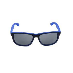 Óculos Solar Prorider Preto e Azul Fosco  com Lente Fumê - Z4165-7
