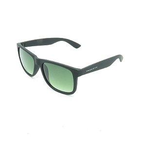 Óculos Solar Prorider Preto Fosco com Lente Degrade Verde - 4165