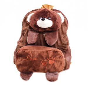 Mochila Infantil Prorider Urso Marrom - BIL02-1