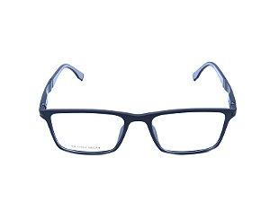 Óculos Receituário Preto e Cinza Fosco - TR-17001C1
