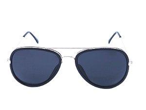 Óculos Solar Prorider Preto Fosco e Dourado - Y40