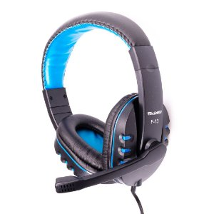 Headphone Gamer Prorider Acme Inc F-13 Preto com Azul - AI002