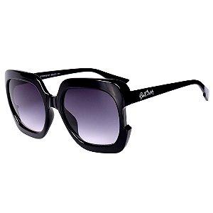 Óculos de Sol Feminino Bell Clover Preto com Lente Degrade