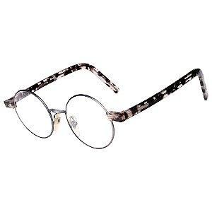 Óculos Receituário Robert La Roche Azul com Mescla Translúcida Marrom - RROCRCOKAPI